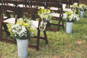 Greensboro Tent Rentals | Dark Wooden Folding Chairs at The Farmhouse Inn at 100 Acre Farm | Madison, GA